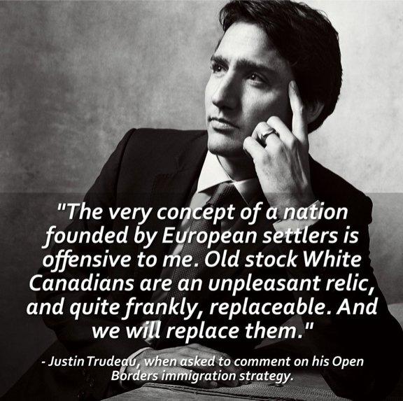Justin Trudeau to eliminate Euro-Canada