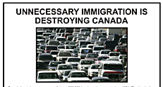 Unnecessary Immigration is destroying Canada