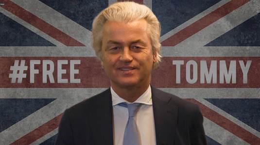 Video message from Geert Wilders