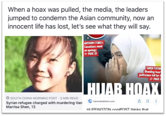 Hijab Hoax While Trudeau is Silent