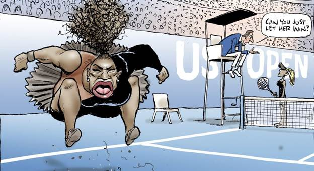 Serena Williams Tantrum