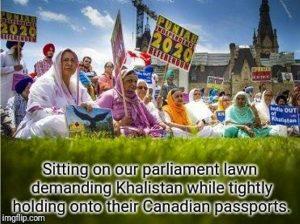 Militant Khalistani's hold Canadian Passports