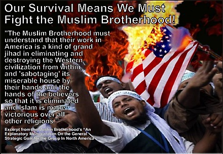 Muslim Brotherhood's state goals to destroy the West