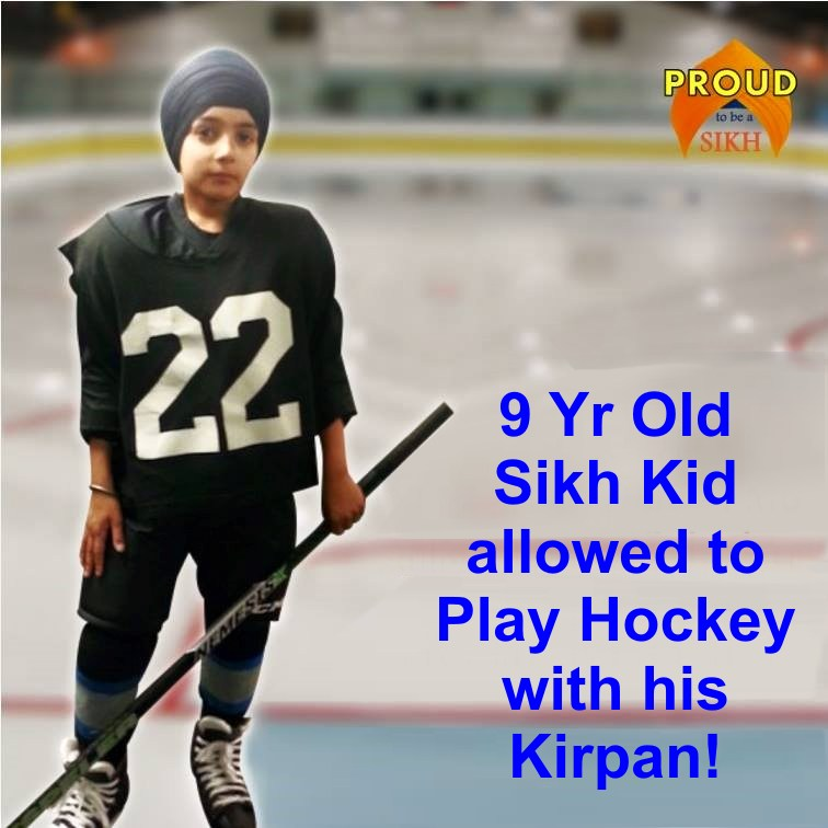 Sikh hockey kids don't have to obey rules