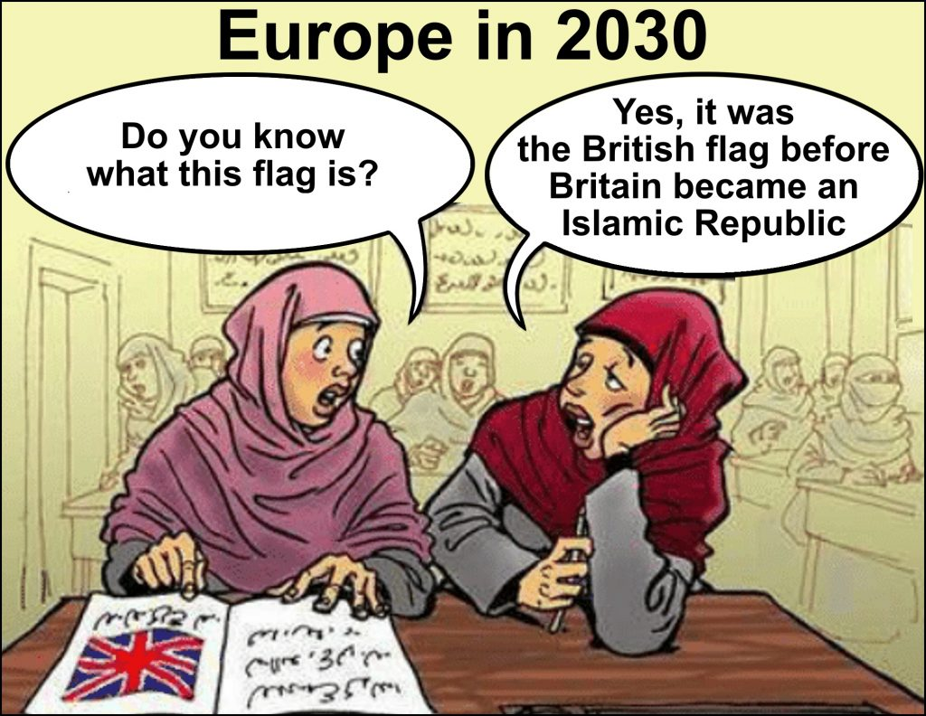 England will become an Islamic Republic if we don't act fast!