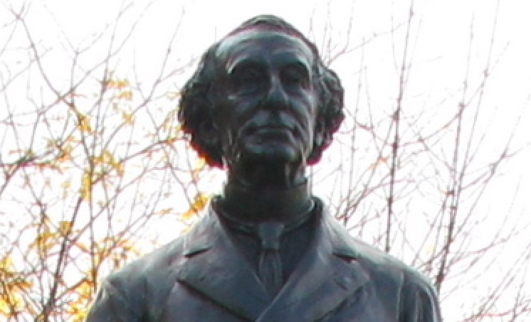 Face of Canada's Oldest John A. Macdonald Statue
