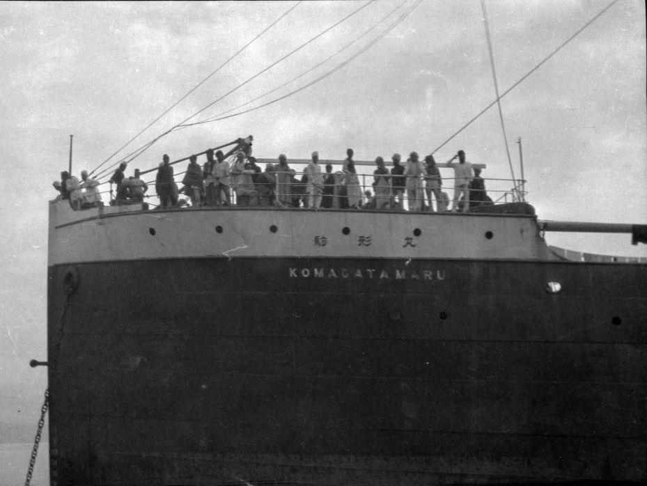 The Komagata Maru was a huge ocean vessel