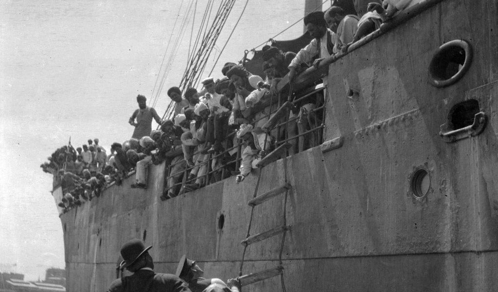 Huge Invading Ship, the Komagata Maru