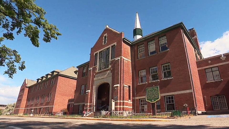 Kamloops Indian Residential School building