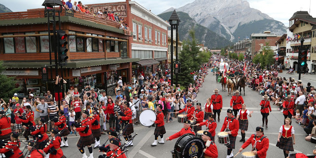 Canada Day in Banff